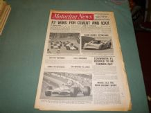 MOTORING NEWS 1970 Sept 3 Can Am, F2, F3, F5000, Peak Revs Rally